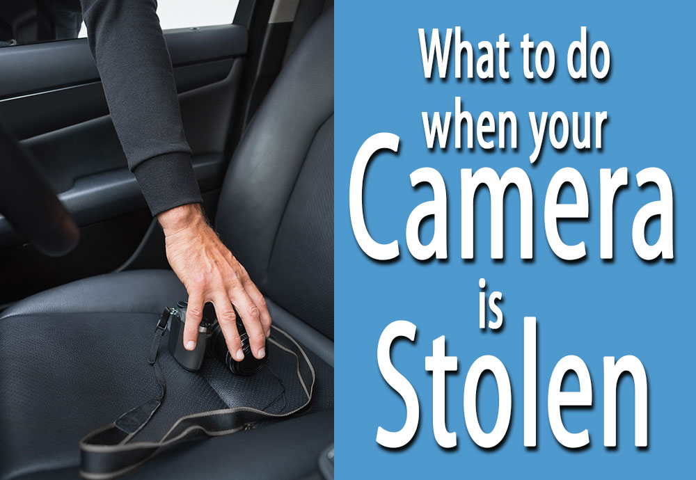What To Do When Your Camera is Stolen