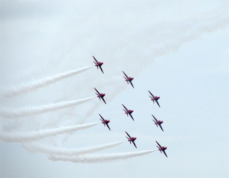 Photo Critique: Flying In Formation