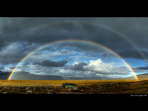 25 Outstanding Rainbow Images