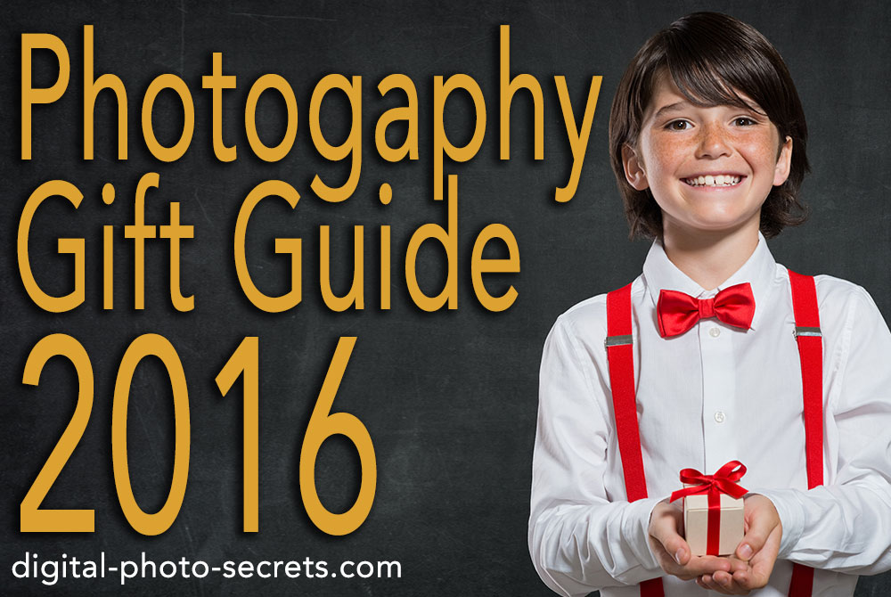 Gifts for photographers – My 2016 guide