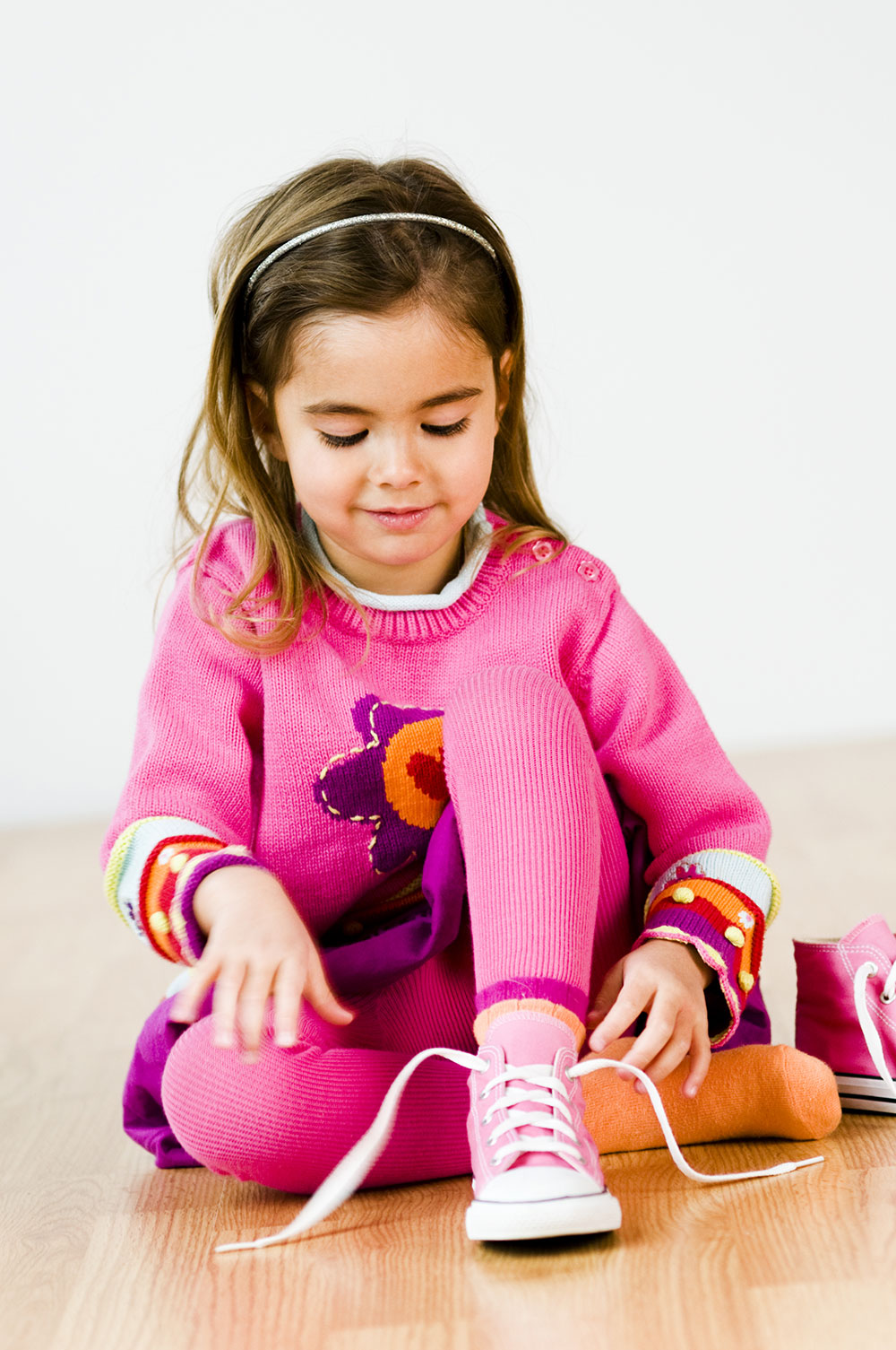 Do Kids Tie Their Shoes