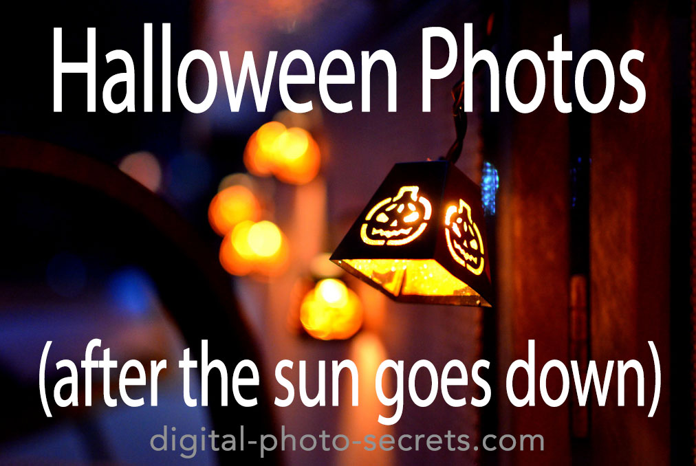 How to Shoot Halloween Photos (after the sun goes down)