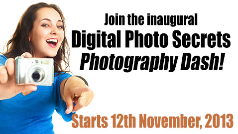 Improve your Photos with the Photography Dash – Starts November 12th