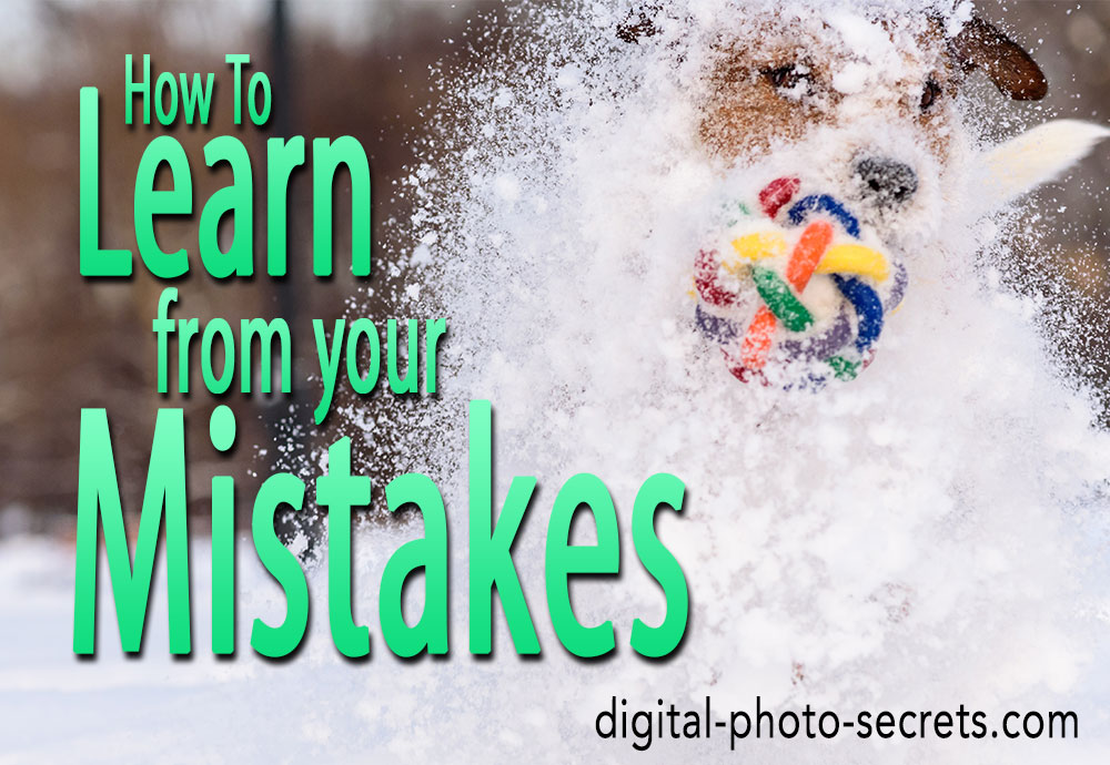 How to learn from your mistakes (or, why no photo is a wasted photo)