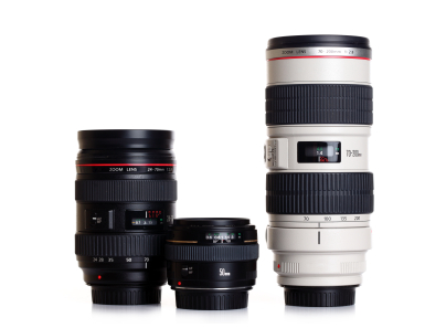 Three Best Lenses for your DSLR