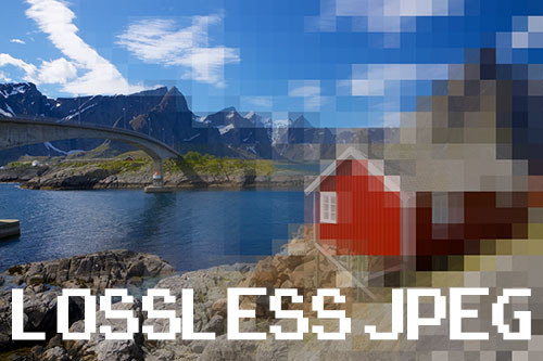 What is lossless JPEG?