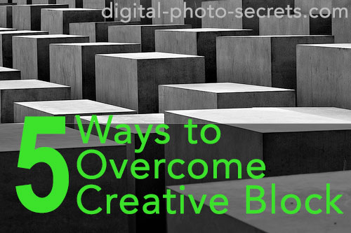 Five Ways to Overcome Creative Block