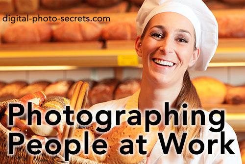 How to Photograph People at Work