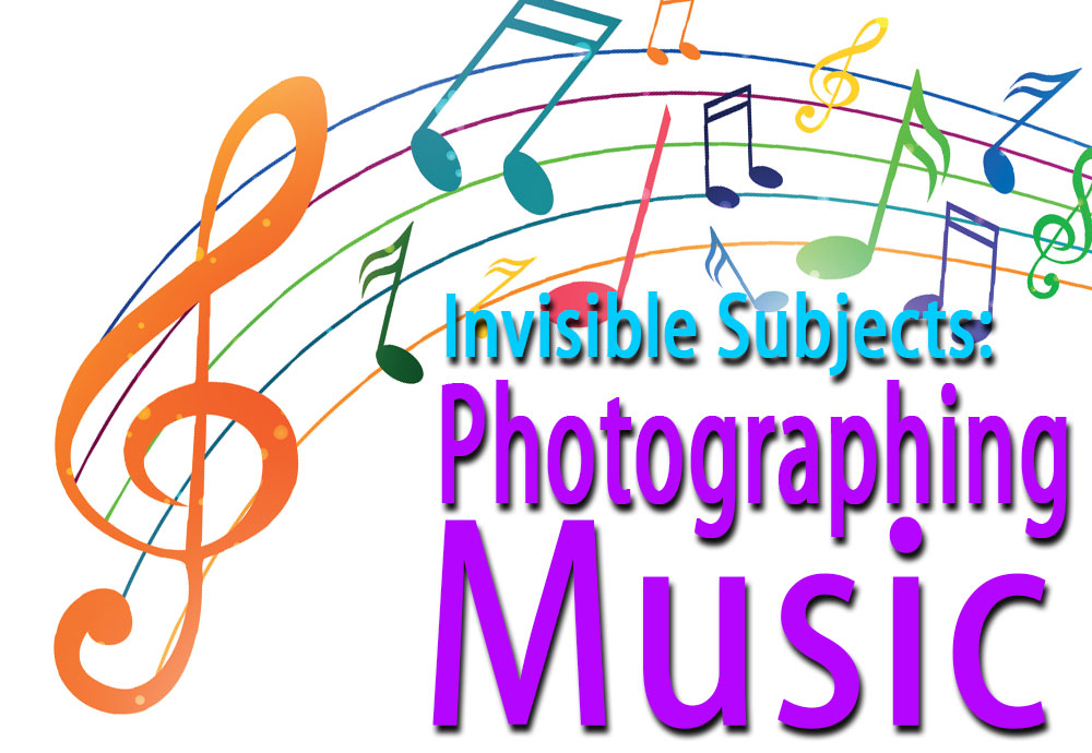 Representing invisible subjects: How to photograph music