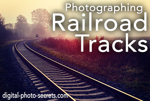 Hdr Train Tracks Photography Gallery