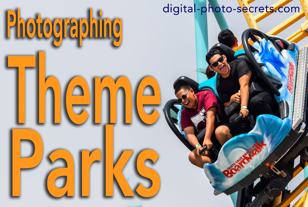 How to photograph theme parks