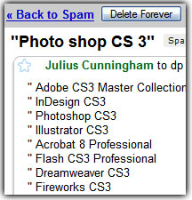 Should I purchase Photoshop from a Spam Email?