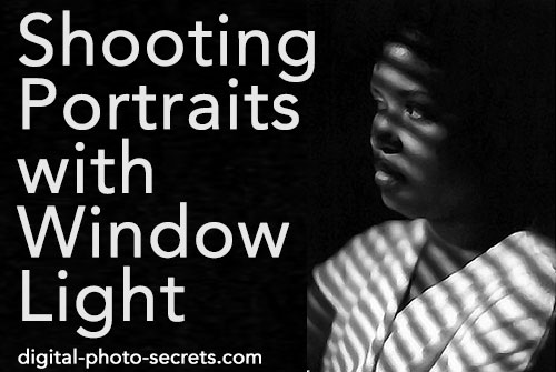 Shooting Portraits with Window Light
