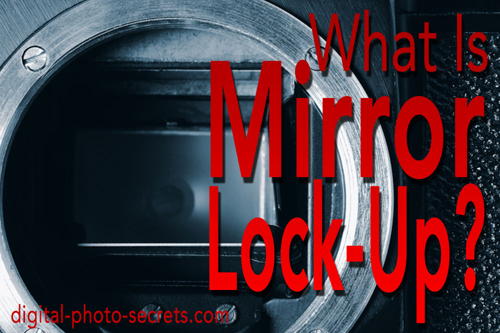 What is mirror lock-up, and when should I use it?