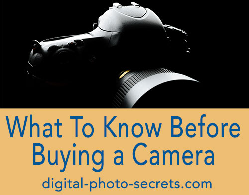 What You Need to Know Before Buying a Camera