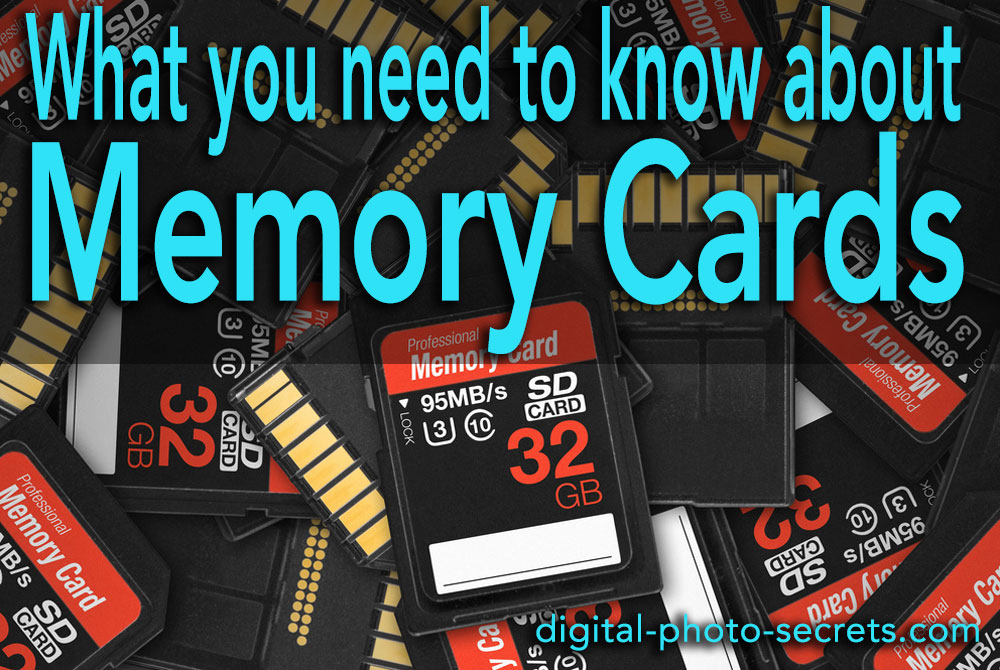 What you need to know about memory cards