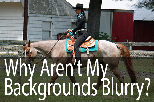 Ask David: Why Aren't My Backgrounds Blurry?
